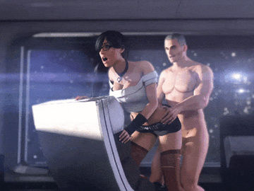 1667994 - Ashley_Williams Commander_Shepard Mass_Effect animated ssppp sspppthings.gif