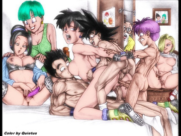 Dragon Ball Z Incset Hentai Comic