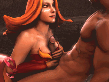 Mirana the Priestess of the Moon Lyralei, the Windranger Luna Moonfang the Moon Rider Lina_gif_01.gif