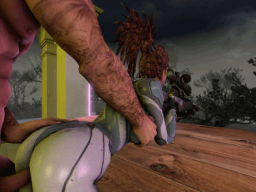1136348 - Francis Left_4_Dead Sarah_Kerrigan StarCraft animated source_filmmaker.gif