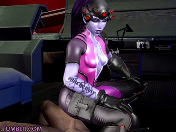 Federline 1765408 - Overwatch Widowmaker animated dpmaker source_filmmaker.gif