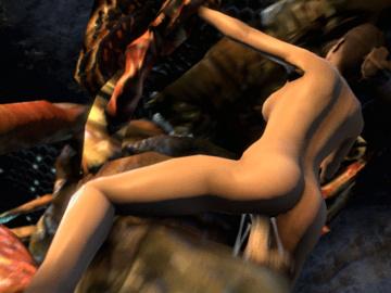 1076800 - Antlion Half-Life_2 Left_4_Dead MrHappyWantsToPlay Zoey animated source_filmmaker.gif