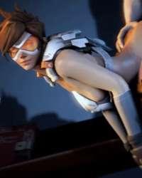 Tracer Widowmaker Winston Mercy Pharah Sombra Zarya Mei Ana Soldier: 76 Symmetra D.Va 018_0_114.gif