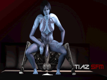 1747356 - Cortana EDI Halo Mass_Effect Mass_Effect_3 Tiaz animated crossover source_filmmaker.gif