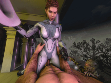1137252 - Francis Left_4_Dead Sarah_Kerrigan StarCraft animated source_filmmaker.gif