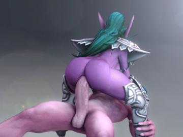 Vampirella Jaina Proudmore Draenei 017Tyrande_Whisperwind_World_of_Warcraft_animated_comissair_night_elf.gif