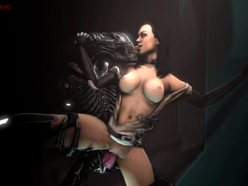 Miranda Lawson 1445884 - Alien Beastlyjoe Mass_Effect Miranda_Lawson Xenomorph animated crossover source_filmmaker.gif