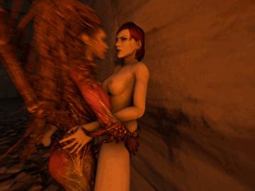 1119430 - Commander_Shepard FemShep Mass_Effect Morgaine Sarah_Kerrigan StarCraft animated crossover source_filmmaker.gif