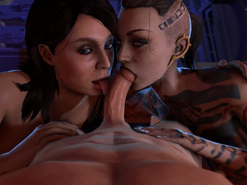 1517168 - Ashley_Williams Commander_Shepard Jack Mass_Effect Mass_Effect_3 animated ltr300.gif