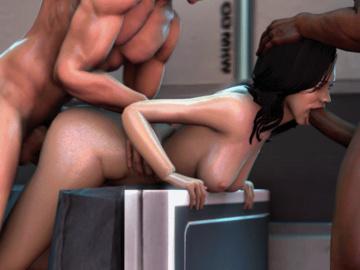 Commander Shepard Miranda Lawson 598_9Zj4.gif