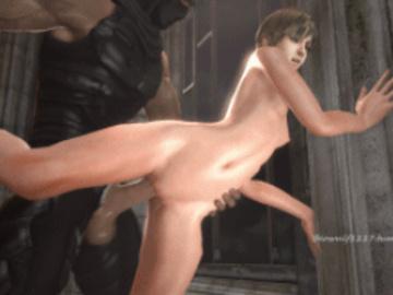 1279748 - Ninja_Gaiden Rebecca_Chambers Resident_Evil Ryu_Hayabusa animated beowulf1117 source_filmmaker.gif