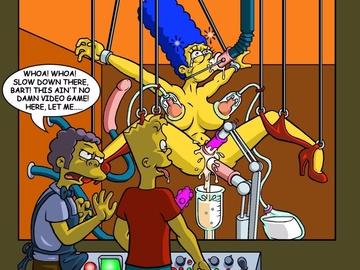Porn Cartoon Simpsons