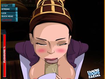 Ahsoka tano 1094992 - Clone_Wars Padme_Amidala Star_Wars animated famous-toons-facial.gif