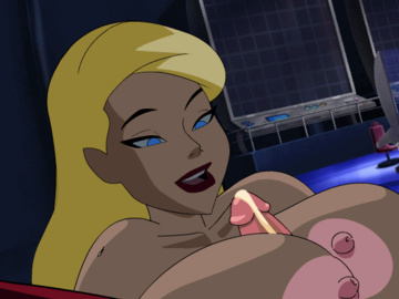 Black Canary Zatanna Bat Girl 1154815 - Black_Canary DC DCAU Flash Justice_League animated.gif