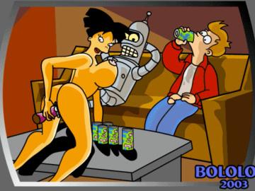 906020 - Amy_Wong Bender_Bending_Rodriguez Fry Futurama animated.gif
