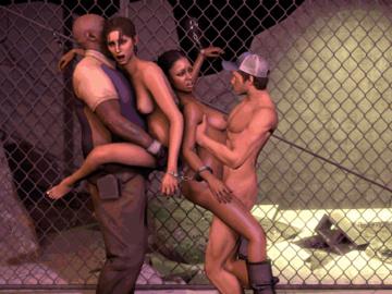 Gaspar Le Gecko 1143557 - Coach Ellis Left_4_Dead Left_4_Dead_2 Zoey animated lej rochelle source_filmmaker.gif