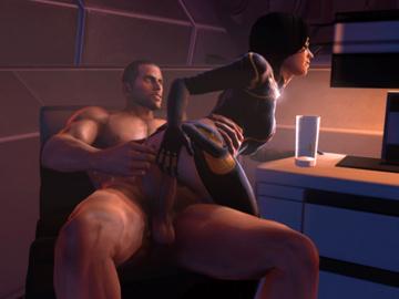 1100566 - Commander_Shepard Mass_Effect Miranda_Lawson andreygovno animated source_filmmaker.gif