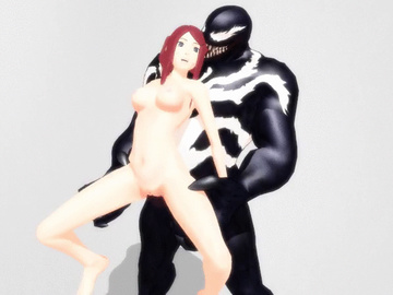 Haku Hanabi 1374575 - Kushina_Uzumaki Marvel Naruto Spider-Man Venom animated crossover tagme.gif
