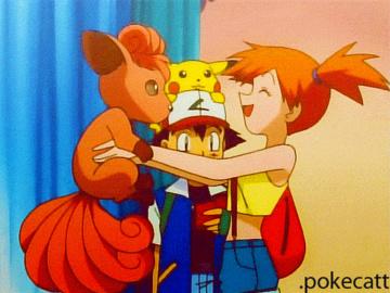 Cynthia Misty Flareon Jessie 1083575 - Ash_Ketchum Misty Pikachu Porkyman Vulpix animated.gif