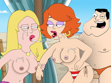 Remarkable, american dad francine and gina
