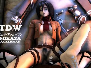 Mikasa Ackerman Annie Leonhart Sasha Blause Ymir 91_14_07_20_Shingeki_no_Kyojin_Mikasa_Clothes_480.gif