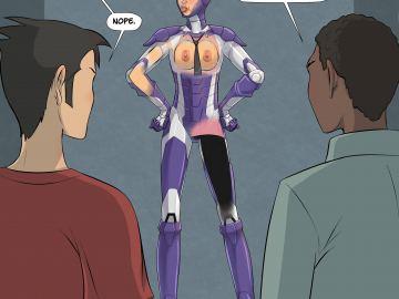 Iron Man Pepper Nude