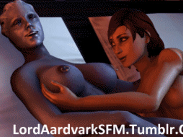 1190882 - Commander_Shepard FemShep Liara_T'Soni LordAardvark Mass_Effect animated source_filmmaker.gif
