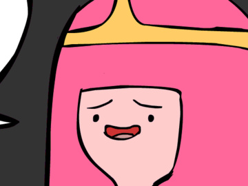 Princess Bubblegum Finn MeiShen Trinden Motoko Kusanagi 715427 - Adventure_Time Finn_the_Human Princess_Bubblegum animated.gif