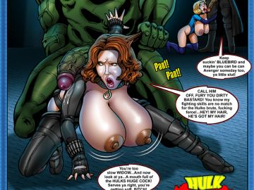 Black widow y hulk hentai talk this