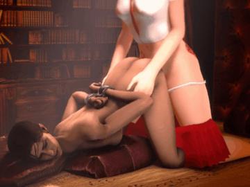 1036568 - Left_4_Dead Monday_Night_Combat Zoey animated crossover marm megabeth source_filmmaker.gif