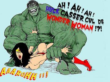 Marvel Superheroes Nude