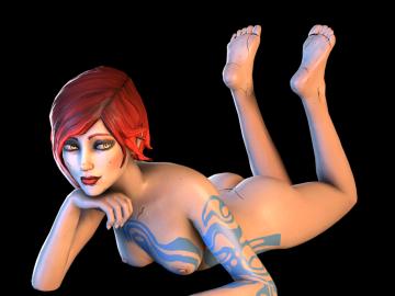 Borderlands Nude Animated