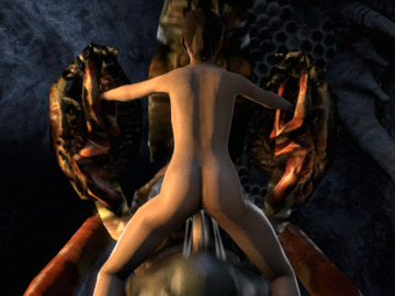 1076801 - Antlion Half-Life_2 Left_4_Dead MrHappyWantsToPlay Zoey animated source_filmmaker.gif