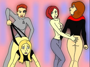 Bodypaint Nude Star Trek