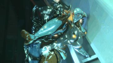 1303292 - Nekros Rule_63 Volt Warframe animated source_filmmaker wattchewant.gif