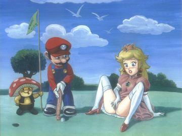 Mario And Peach Xxx