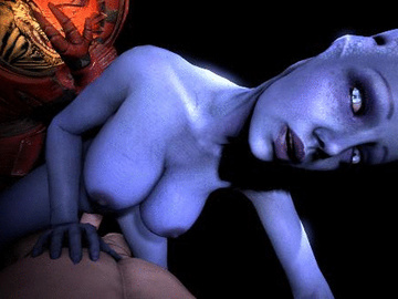 1024096 - Asari Doctor_Pop Liara_T'Soni Mass_Effect Wrex animated krogan source_filmmaker.gif