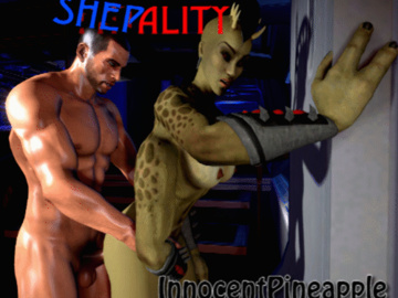 1168903 - Commander_Shepard Mass_Effect Mortal_Kombat Sheeva animated crossover.gif