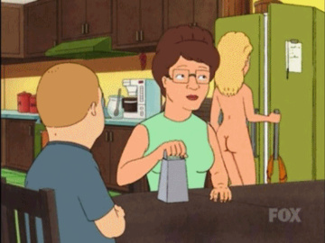 Luanne Platter Lil DeVille Bordeaux  Nancy Gribble 459239 - Bobby_Hill King_of_the_Hill Luanne_Platter Peggy_Hill animated.gif