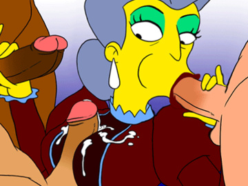 Mom Kiff Kroker Marge Simpson Marge Simpson Amy Wong 1554592 - Madame_Belle The_Simpsons aeolus06 animated.gif