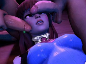 D.Va Widowmaker Mercy Tracer Mei Pharah Symmetra Zarya 1761373 - D.Va Overwatch Secaz animated source_filmmaker.gif