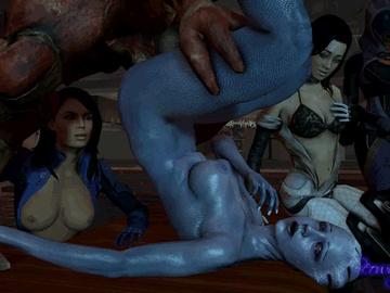 1743058 - Asari Ashley_Williams Liara_T'Soni Mass_Effect Mass_Effect_3 Miranda_Lawson Tali'Zorah_nar_Rayya animated beowulf1117 source_filmmaker.gif