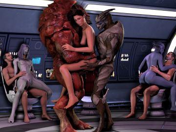 Mass Effect Sex Movies