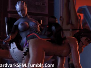 1162411 - Commander_Shepard FemShep Liara_T'Soni LordAardvark Mass_Effect Mass_Effect_3 Samantha_Traynor animated source_filmmaker.gif