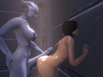 1330890 - Liara_T'Soni Mass_Effect Miranda_Lawson Tonzak animated source_filmmaker.gif