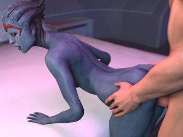 1282168 - Commander_Shepard Mass_Effect Samara animated em805 source_filmmaker.gif