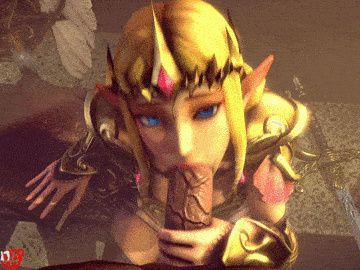 1702006 - Hyrule_Warriors Legend_of_Zelda Link Princess_Zelda animated pockyin source_filmmaker.gif