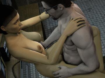 Alyx Vance 183_1046209_Alyx_Vance_Gordon_Freeman_Half_Life_animated_fugtrup_source_filmmaker.gif