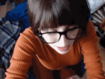 Velma Dinkley Daphne Blake 1724378 - Scooby-Doo Velma_Dinkley animated cosplay.gif