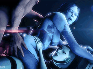 1547621 - Cortana EDI Halo Mass_Effect Mass_Effect_3 animated crossover source_filmmaker vsmnd.gif